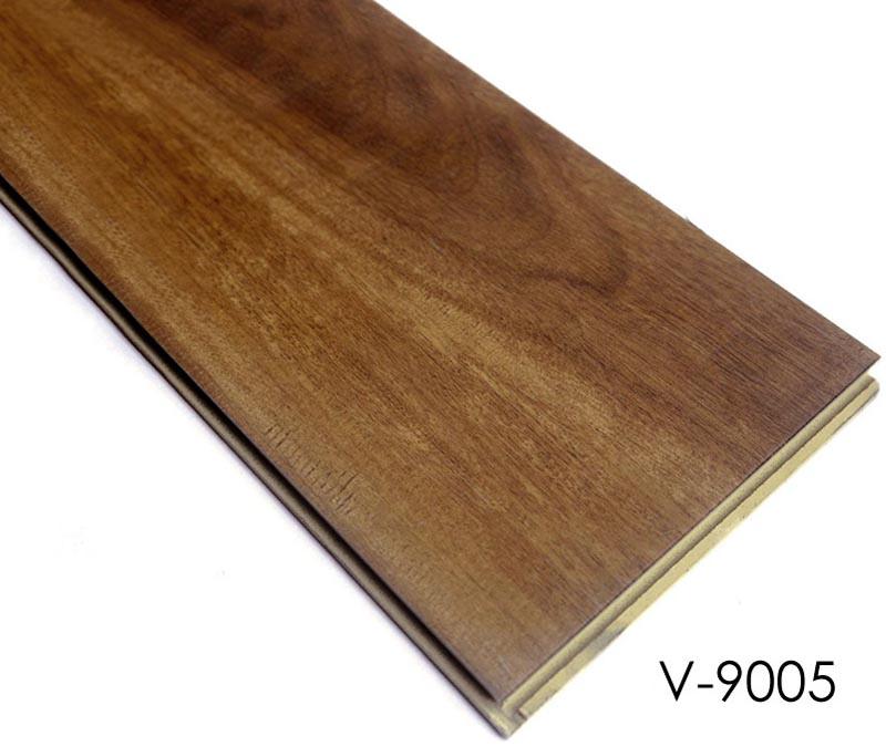 Plastic Wood Floor Tile Interlocking Wpc Vinyl Plank Flooring