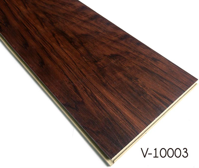 Plastic Wood Pattern Floors Wpc Luxury Vinyl Plank