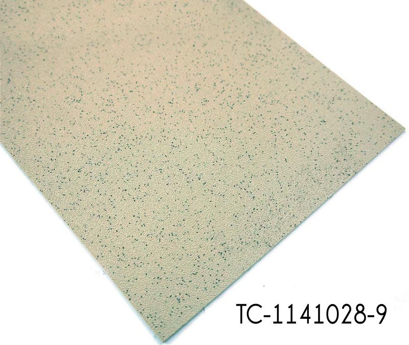 Silicon Carbide Embossed Grey PVC Sheet Vinyl Flooring Roll