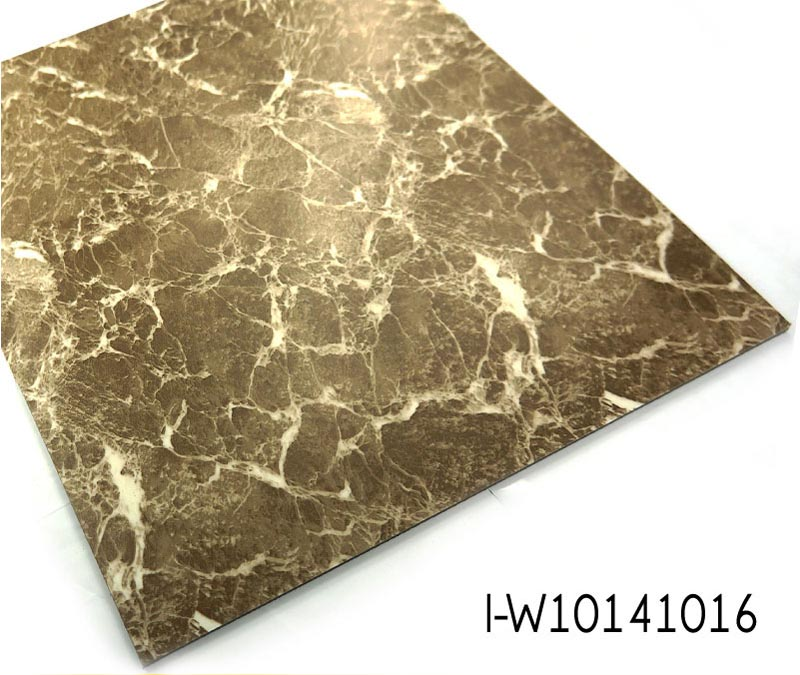 Thickness 4m Marble Pattern Looselay PVC Flooring