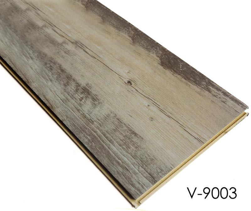 Wood effect Click Lock WPC PVC Tile Flooring
