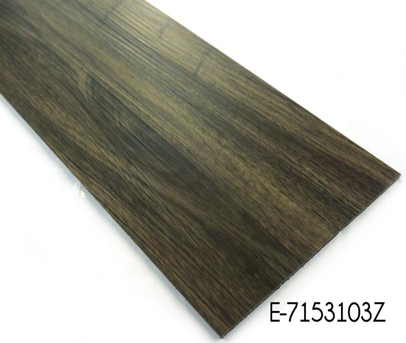 Anti skid Commercial Loose Lay Vinyl Plank Flooring