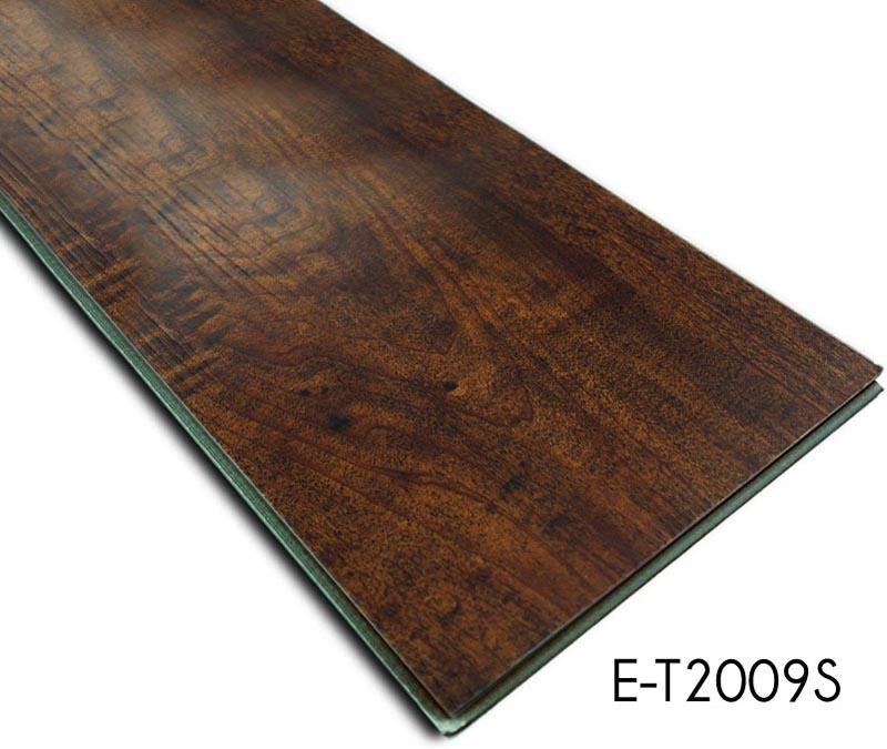 Wood Pattern Wear Surface Vinyl Click Flooring Tiles