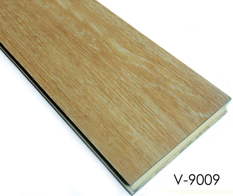 Wood-Plastic Composite Flooring Click Lock Vinyl floor tile