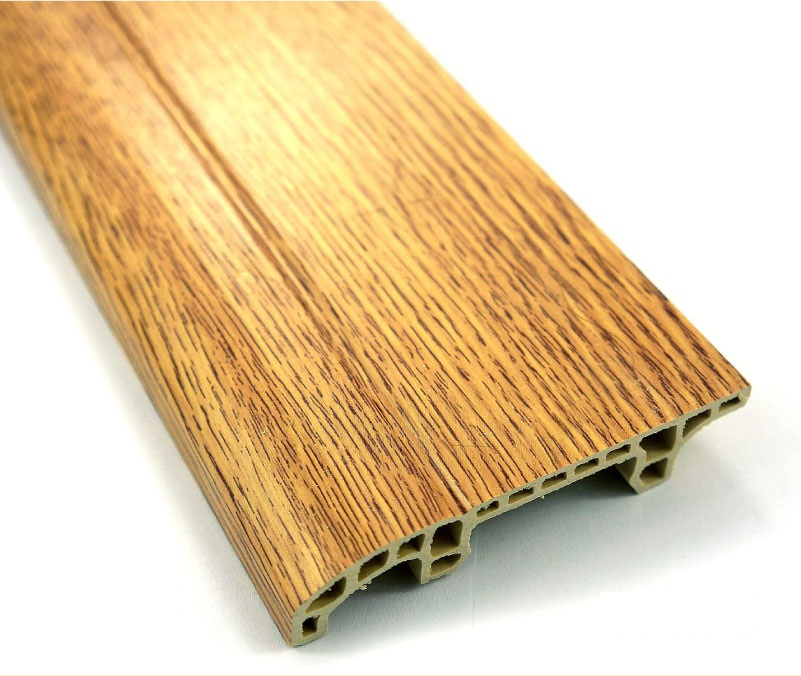 Wood Plastic Composites Skirting Tile TopJoyFlooring