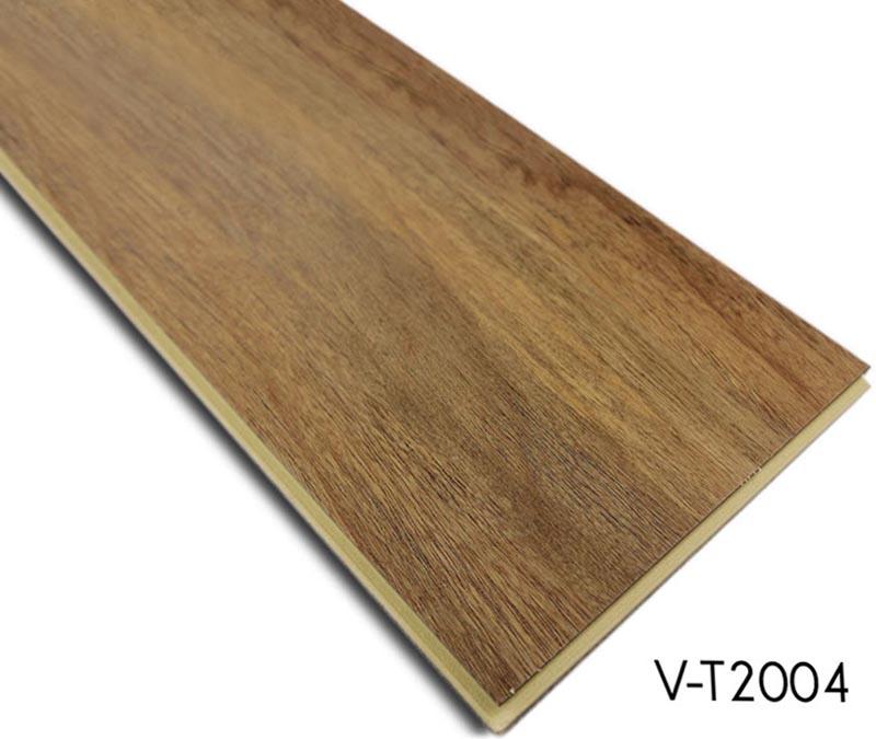 Plastic Click Flooring: WPC Click Lock Vinyl Plank Flooring