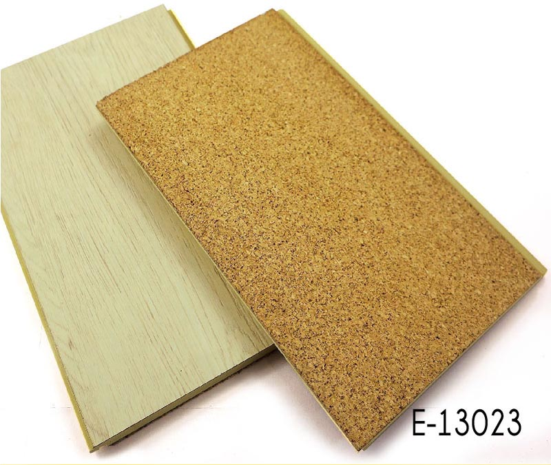 WPC Clikc Flooring with HPL surface cork backing