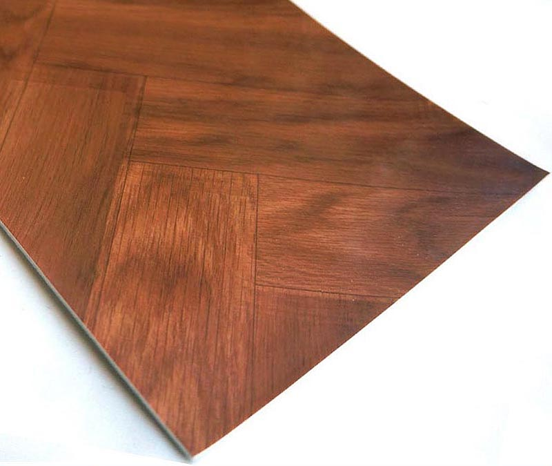 Natural Wood Flooring Looked Residential Vinyl Flooring