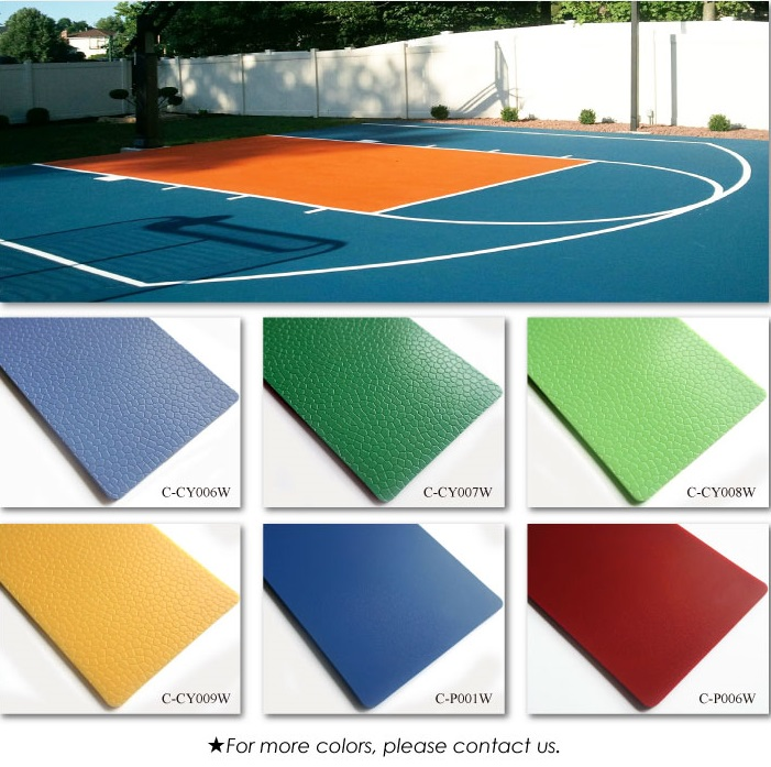 Exterior Vinyl Flooring #33: Colors For Your Choice: