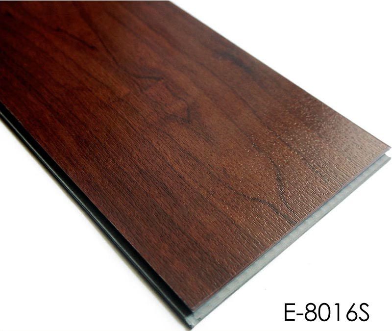 Best Commercial Glossy Waterproof Click Lock Vinyl Plank