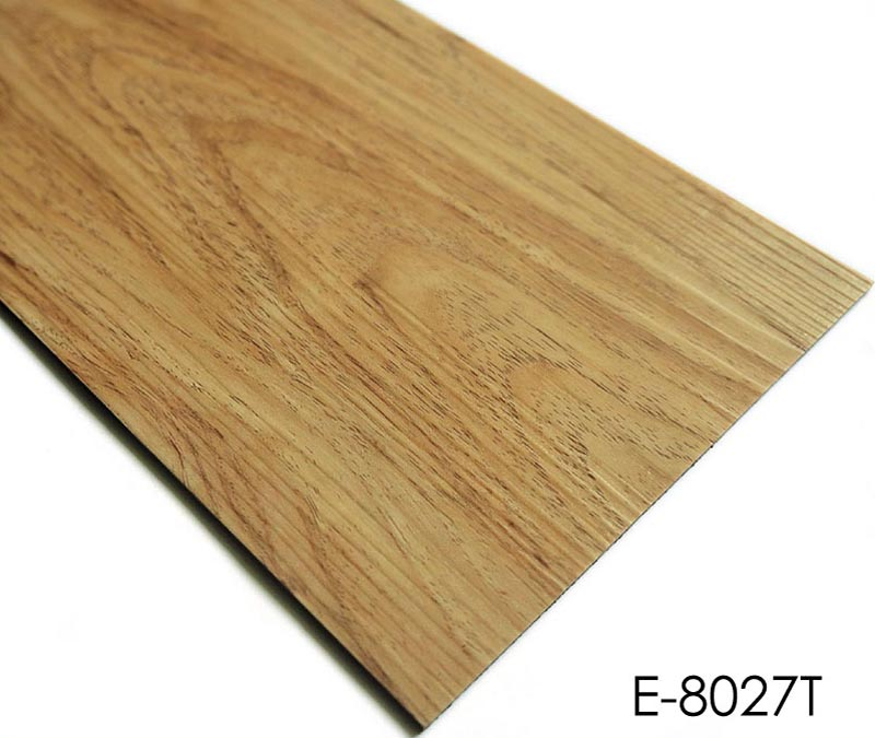 Vinyl Flooring Tiles With Wood-Like Pattern