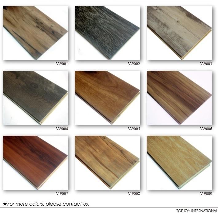 Wood Plastic Composite Flooring Click Lock Vinyl Floor