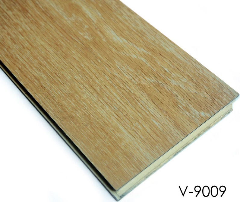 Wood Plastic Composite Flooring Click Lock Vinyl Floor