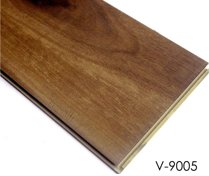 Plastic Wood Floor Tile Interlocking Wpc Vinyl Plank Flooring