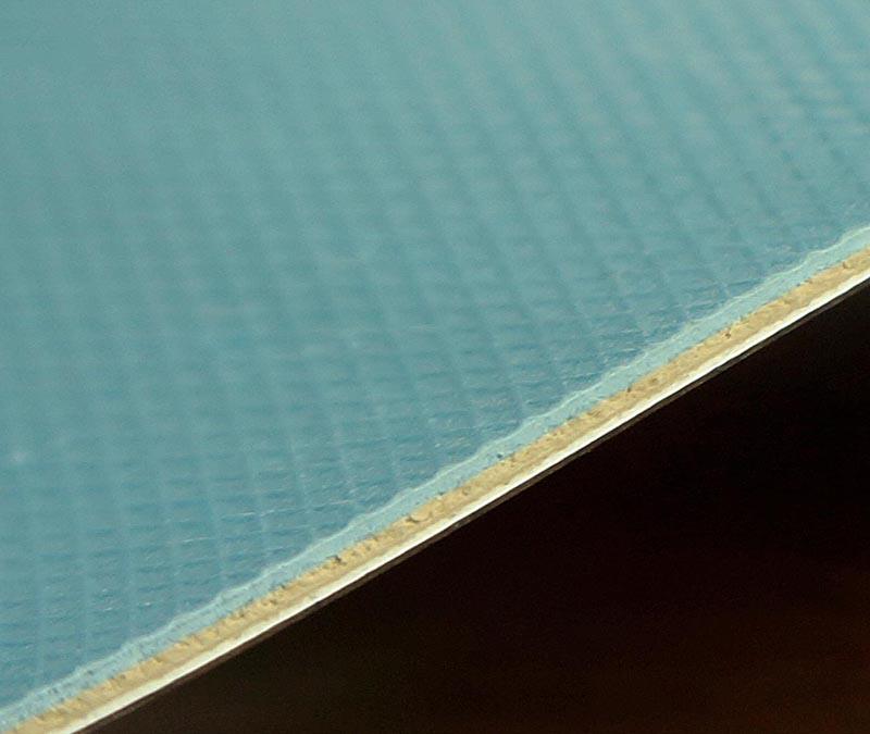 나무 패턴 높은 광택 PVC 롤 바닥 - TopJoyFlooring