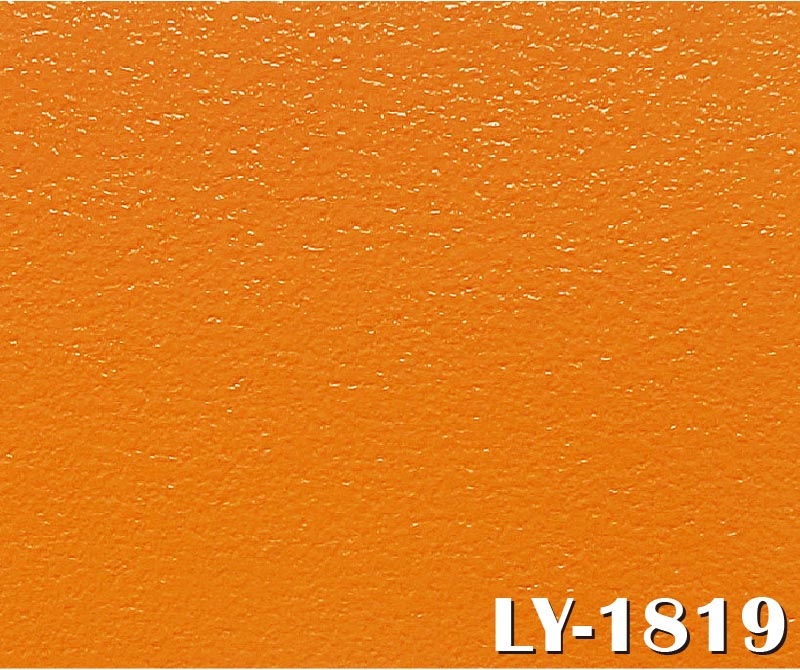 Bright Orange PVC Flooring for Children's Fairyland