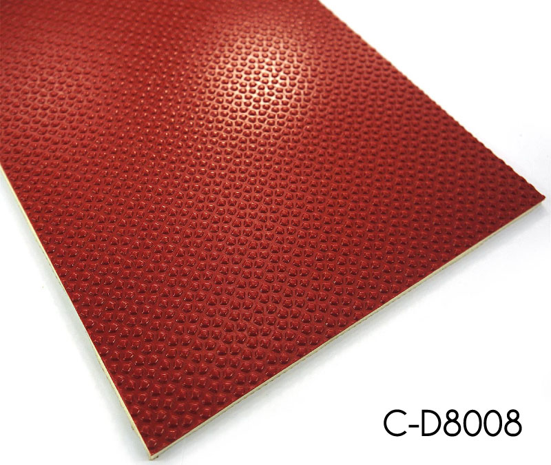 Gobbet Embossed Sports Vinyl Flooring Sheets