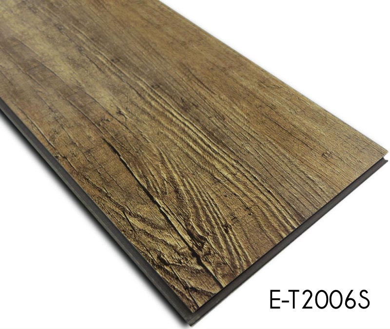 Stain Resistant Wood Look Series Vinyl Plank Floor