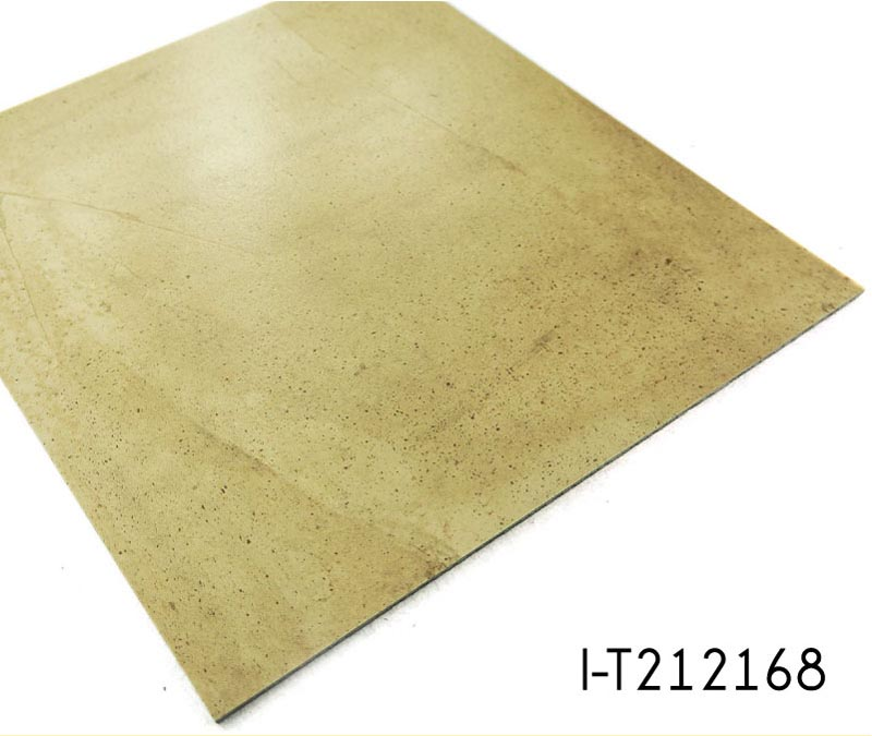 Stone Pattern Vinyl Floor Tile Standard Size: 2mm Thickness Stone Surface Vinyl Tile Flooring