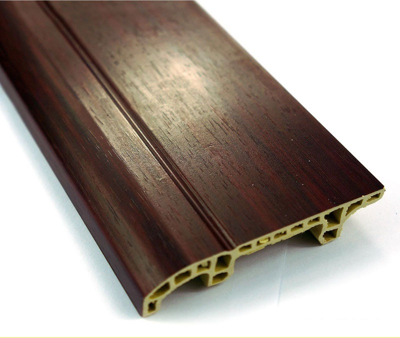 WPC Interior PVC Profile Flooring Skirting