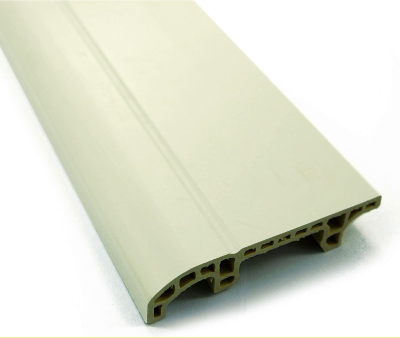 White Wood Flooring Plastic Skirting Board