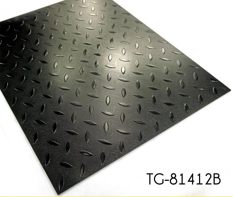 Dot Embossed Pattern Vinyl Garage Floor Tiles Topjoyflooring
