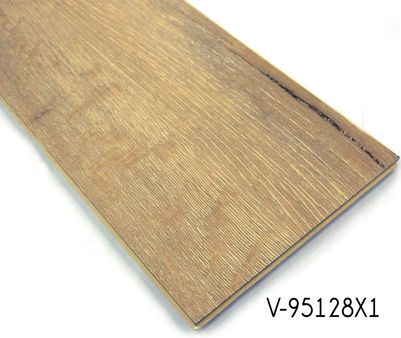WPC Wooden Vinyl Interlocking Soundproofing Tiles