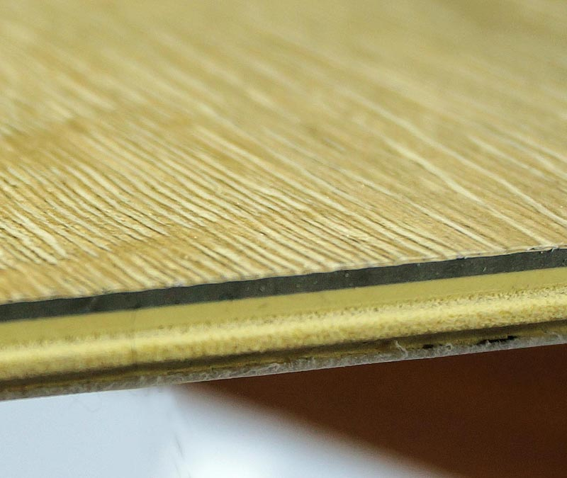 Soundproofing Floors Vinyl : Wpc wooden vinyl interlocking soundproofing tiles
