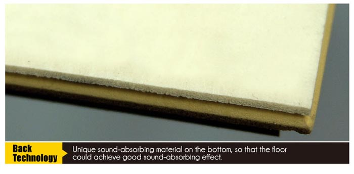 Sound Absorbing Flooring : Wpc sound absorbing floor click deadening tile