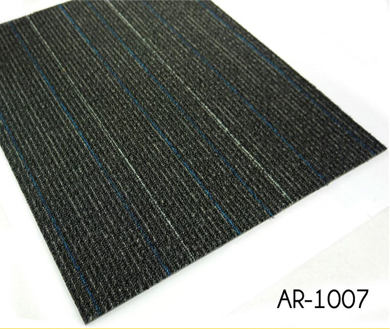 Loop Pile Design Jacquard Pattern Carpet Tiles