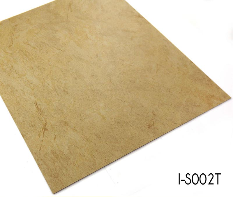 Glue Down Stone Grain Cheap Vinyl Flooring