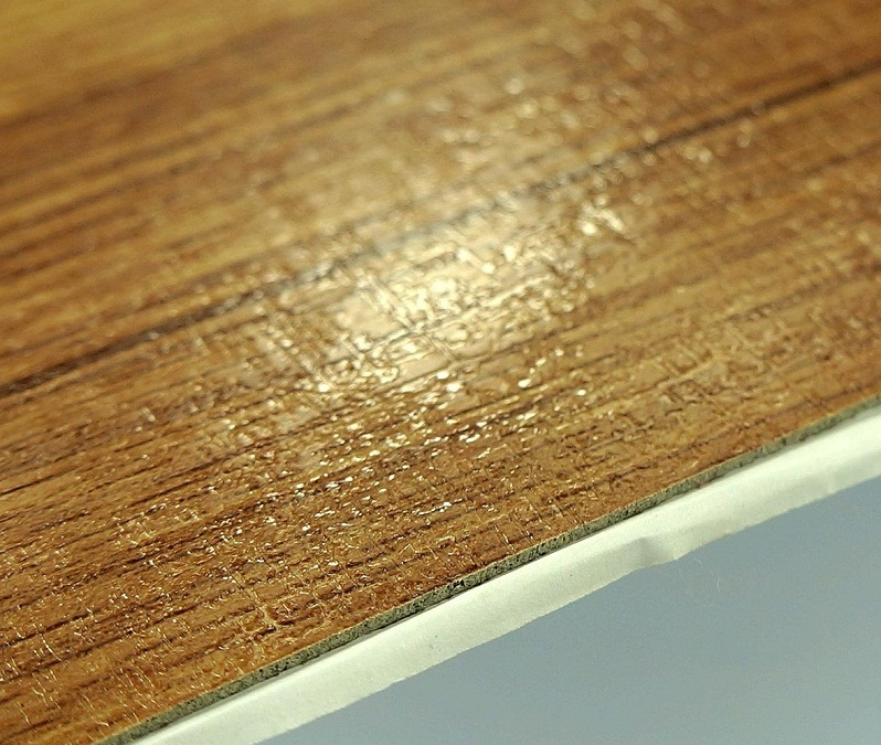 "18""*18"" Self Adhesive Wooden PVC Vinyl Flooring"