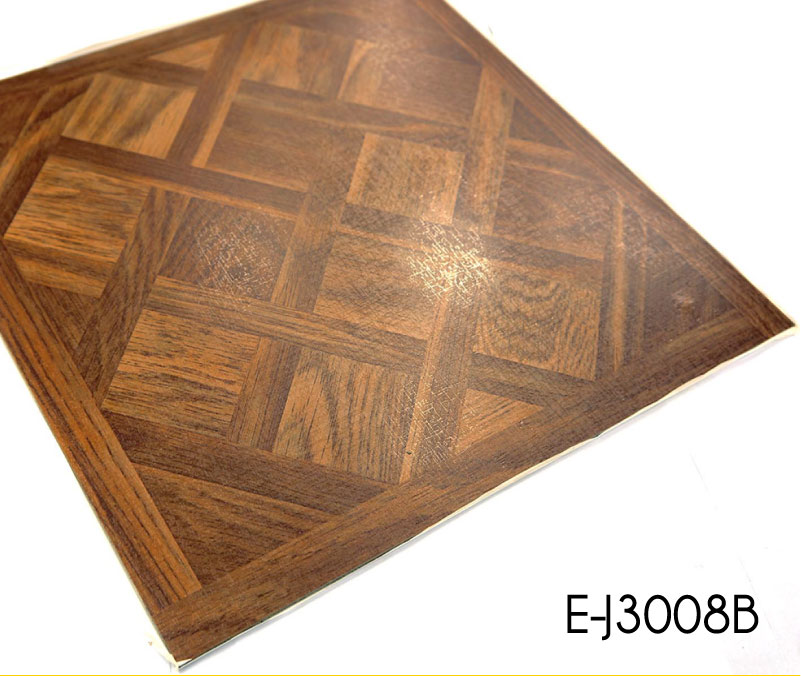 15mm 25mm Stick Wood Look Vinyl Floor Planks Topjoyflooring
