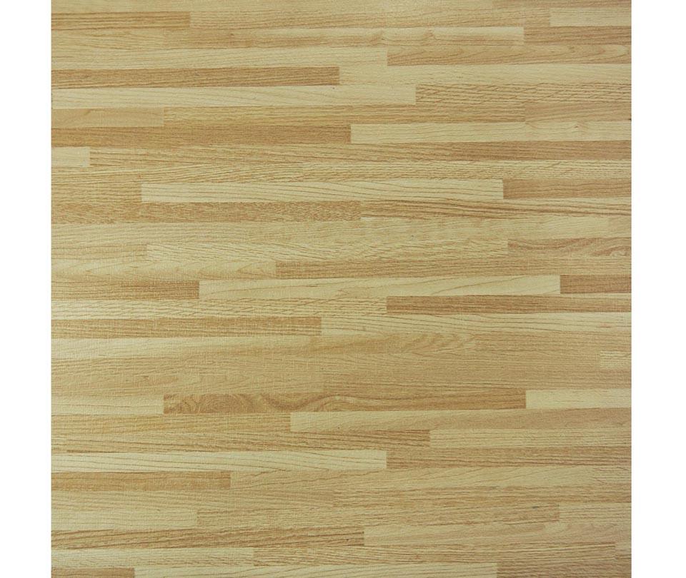 Square wooden self adhesive pvc tile flooring topjoyflooring for Square hardwood flooring