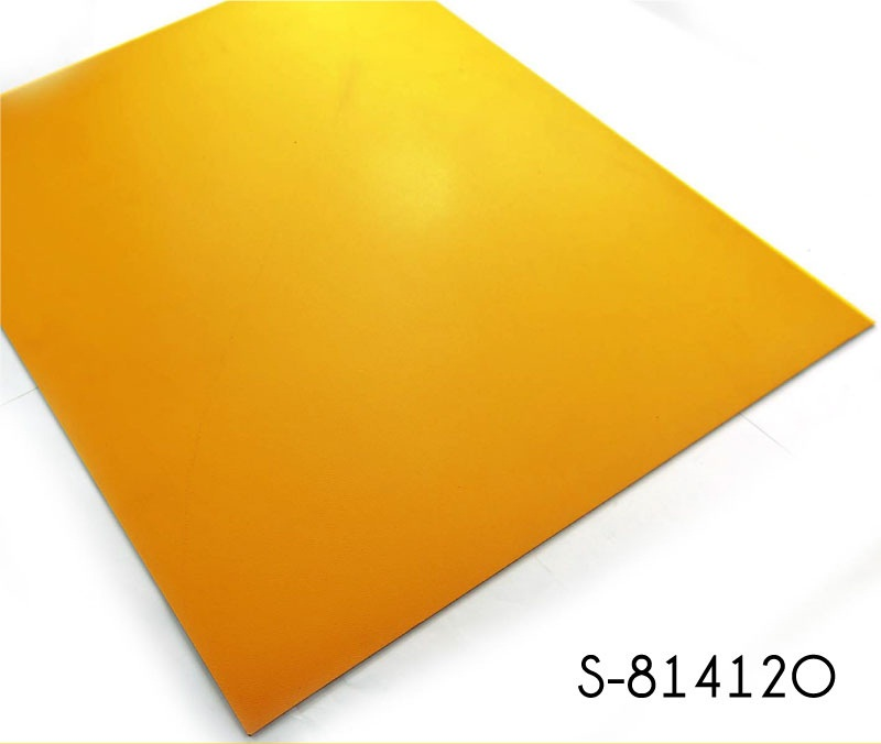 Youthful Orange Color Vinyl Tile