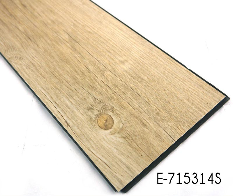 Wood Grain Interlocking Vinyl Flooring Tiles