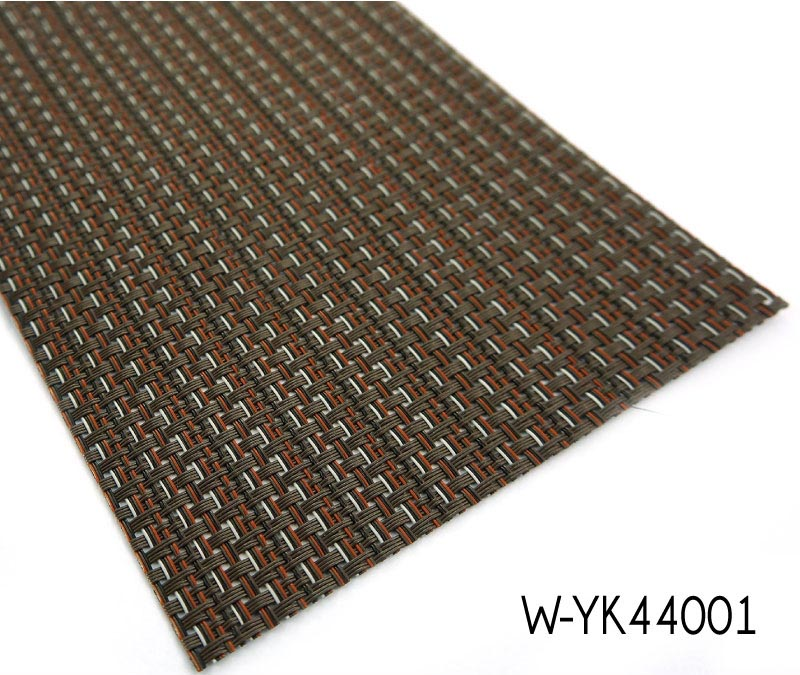 Vinyl Made Woven Bamboo Floor For Dry And Wet