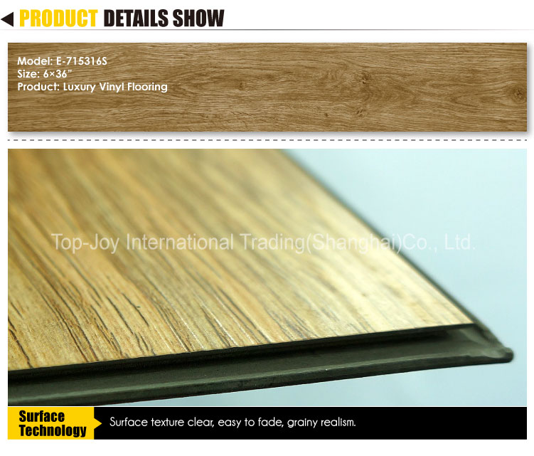 Click Systerm Vinyl Wood Tile