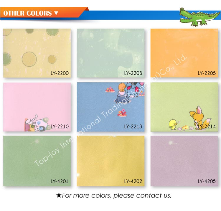 Phthalate Free Vinyl Flooring for Kid