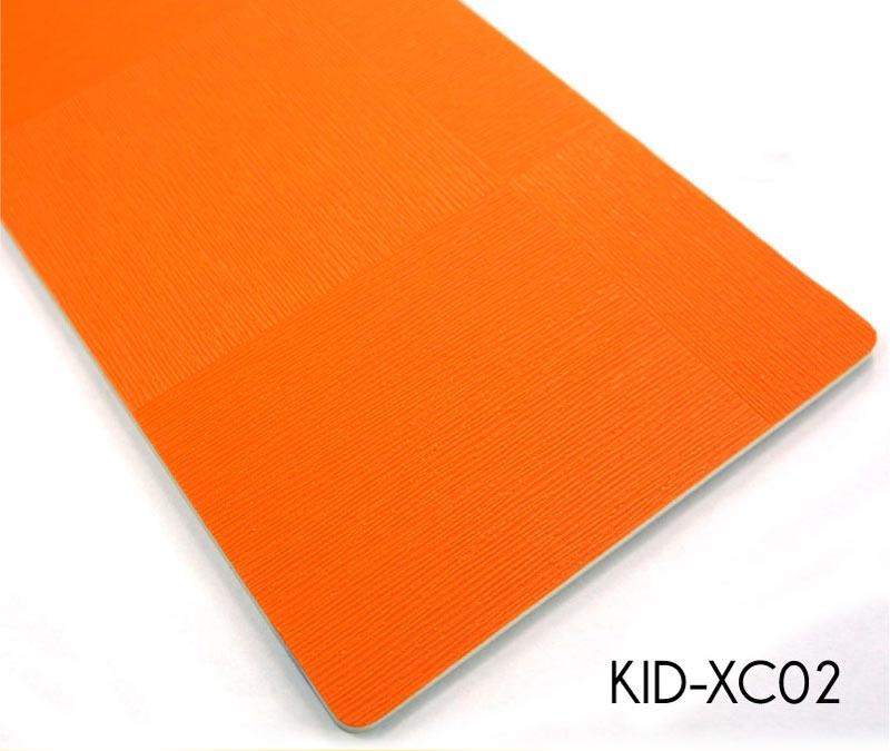 Children Vinyl  Flooring Roll Foam Back