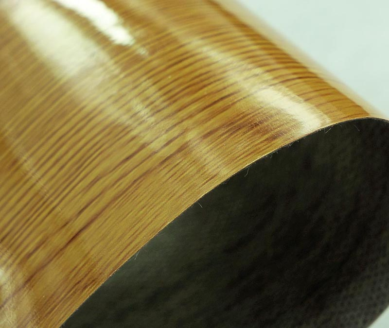 Commercial Wood Luxury Vinyl Flooring Roll