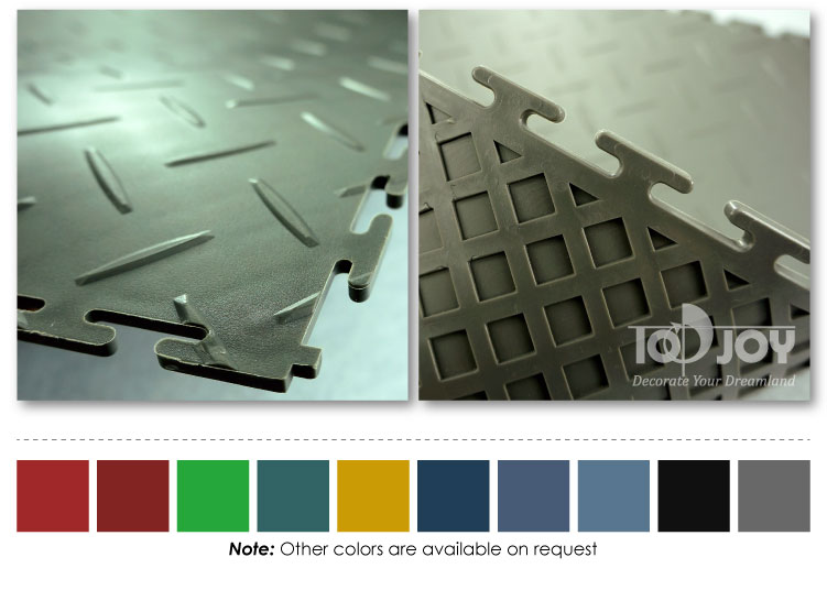 interlocking PVC flooring tile