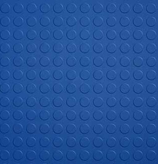 Hidden Joint Garage Interlocking Pvc Flooring Coin Pattern
