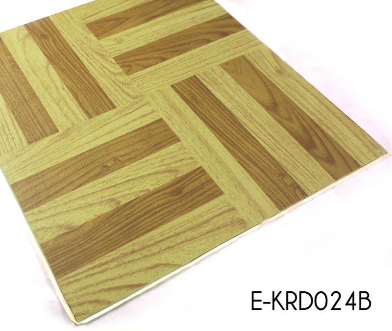 Wood Antislip Vinyl Flooring Tiles Adhesive Topjoyflooring