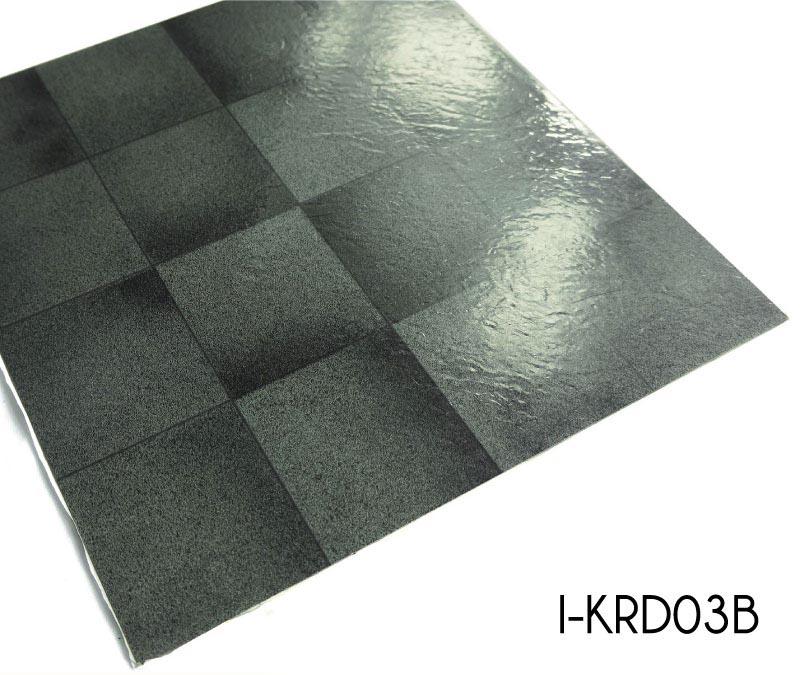 Black Marble Self-adhesive Vinyl Tiles