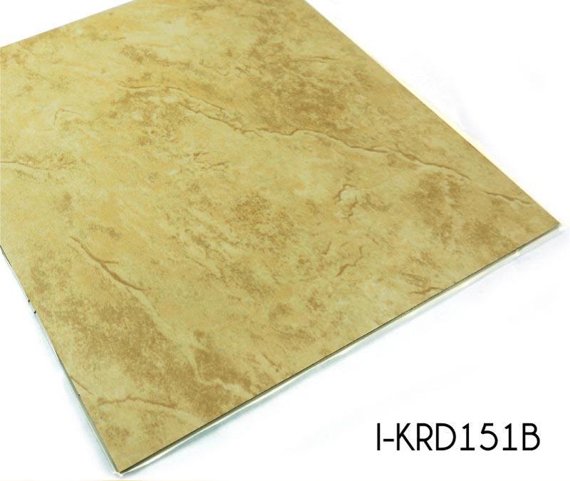 Stone Pattern Vinyl Floor Tiles Adhesive