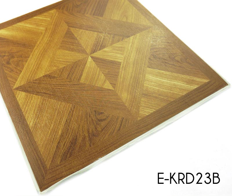 Indoor Durable Vinyl Flooring Self Adhesive Tiles