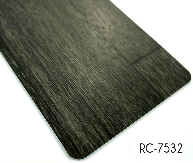 PVC wooden like Flooring backed with foam