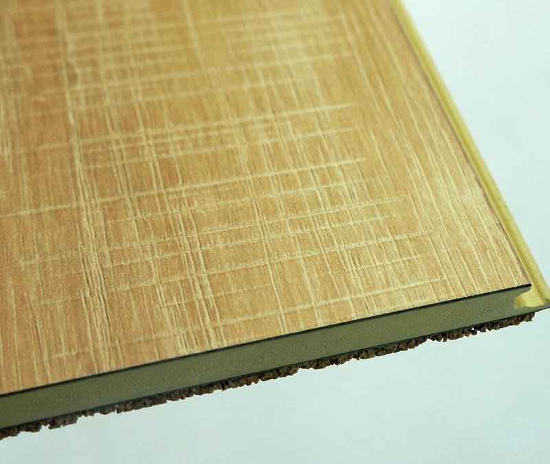 Flame Resistant Flooring : Fire resistant sound absorbing hpl wpc flooring with cork