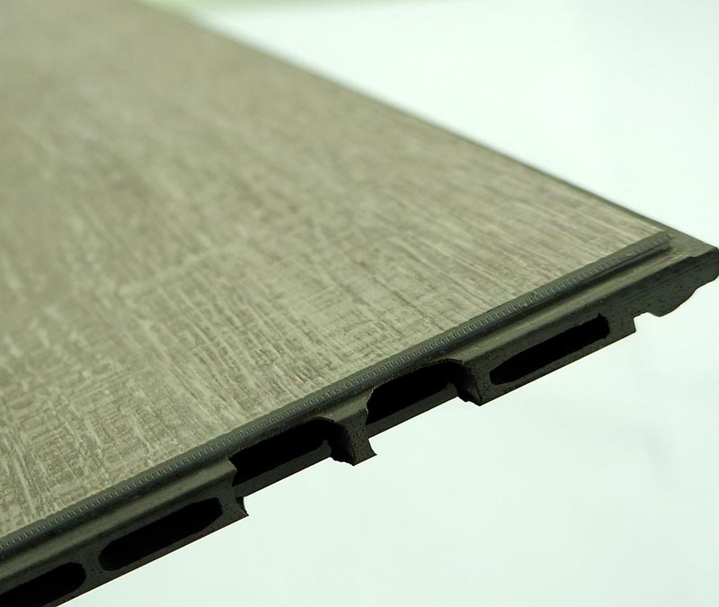 HPL WPC flooring with bridge backing/hollow backing